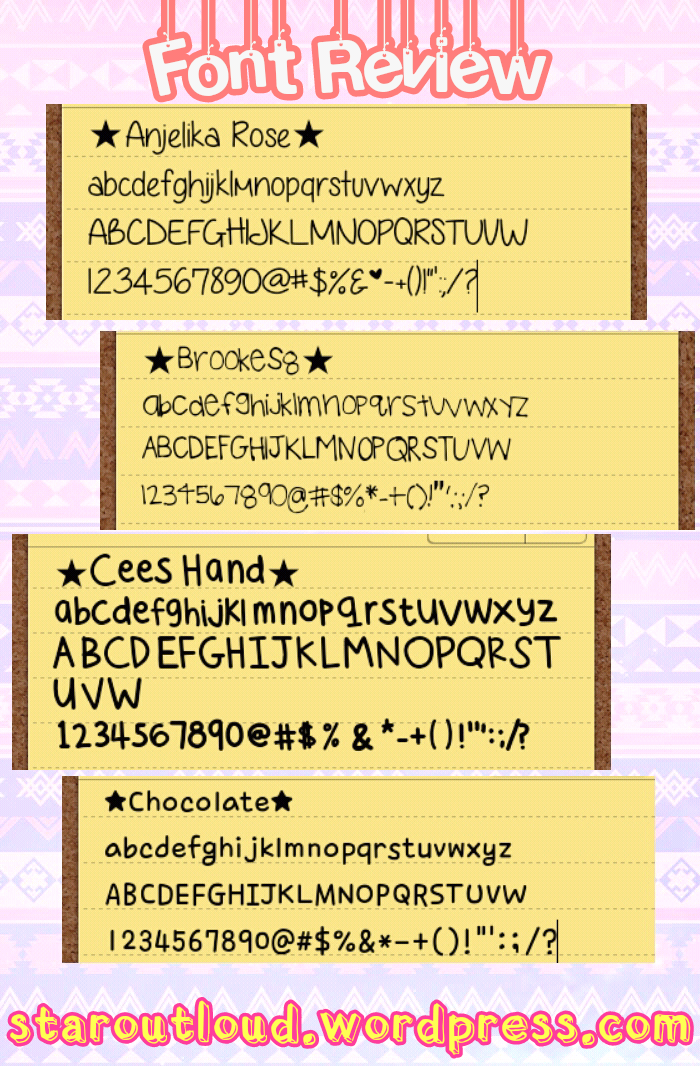 Cute Font for Your Smartphone – Heavenly Heavens